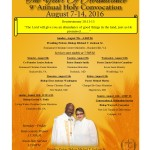Convocation 2016 flyer
